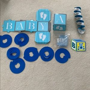 It's A Boy! Assorted Baby Shower Decorations